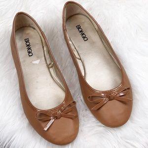 BONGO Faux Ballet Flats Shoes Size 8 1/2 M